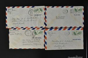 CANAL ZONE Postal History COVER LOT #9 - 20+ Assorted Airmail Covers $$$