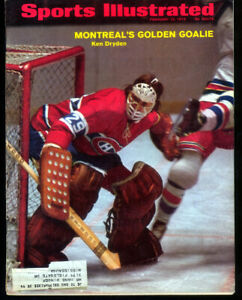2 - 8 1/2 x 11  Sports Illustrated with  Ken Dryden on Canadiens  Stankey Cups