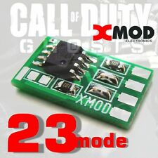 XBOX 360 RAPID FIRE MOD CHP,  DIY Modded Controller one, PRO COD @ XMOD 23 MODE