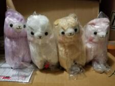 Amuse Alpacasso Alpaca llama plush Small mini version Japan Toreba 6.5 in