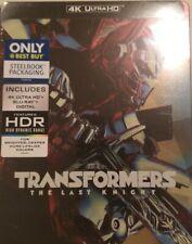 TRANSFORMERS: THE LAST KNIGHT STEELBOOK (4K UHD + Blu-Ray + Digital Copy)