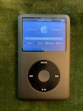 Ipod Classic 256GB SSD iPod Classic 7th Gen Upgraded from 160GB (thin version)