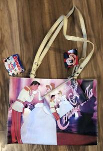 Walt Disney Cinderella Purse with Bonus Coin Purse from Kmart Vintage NOS NWT