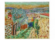 Postcard Pierre Bonnard The Path to Le Cannet, 1946 Private Collection Usa Mint