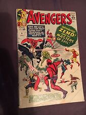 The Avengers #6 (Jul 1964, Marvel) FR TO GD CONDITION!