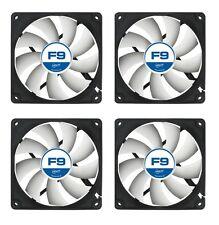 4 X Pack De Refrigeración F9 92mm ventiladores Arctic 1800 RPM (AFACO - 09000-GBA01)