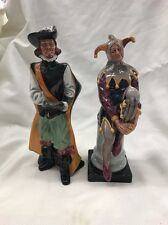 ROYAL DOULTON FIGURINES CAVALIER AND JESTER
