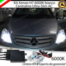 KIT XENON XENO H7 AC 6000K CANBUS MERCEDES CLASSE B W245 100% NO AVARIA LUCI