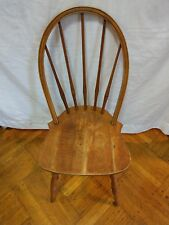 Authentic Vintage Mid-Century Maple BOWBACK Windsor 5 Spindle Chair