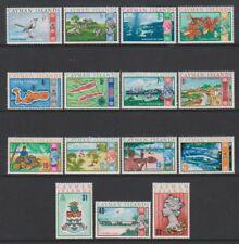 Cayman Islands - 1970, 1/4c - $2 Decimal Currency set - MNH - SG 273/87