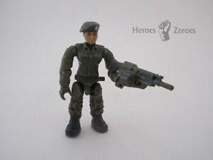 Call of Duty COD Mega Construx #FMG11 Jungle Satcom Armory - Female with MG