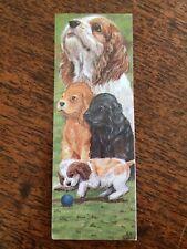 Dog Magnetic Bookmark