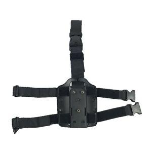 Safariland Black Modular Tactical Pistol Gun Drop Leg Holster Platform Quality