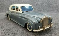 """VINTAGE BANDAI TIN LITHO  ROLLS ROYCE SILVER SHADOW 11 1/2"""" LONG MADE IN JAPAN"""