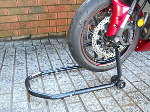 MOTORCYCLE MOTORBIKE BIKE FRONT STAND