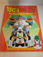 """Vintage Dragonball Z Giant Sticker and Activity Book """"War Zone"""" NEVER USED"""