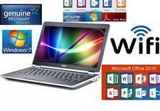 "Dell Latitude E6230 12.5"" i7 2.9GHz 4GB RAM 320GB HDD Windows 7 Laptop"