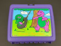 Barney & Baby Bop- Thermos Lunch box- 1992- The Lyons Group