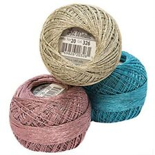 Lizbeth Metallic Crochet/Tatting Thread-Size 20- Free Case w/purchase of 2