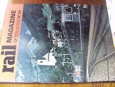 µ? Revue Rail Magazine n°29 Paraguay 030T 242 A1 Creil-Aulnoye St Gothard MI.79