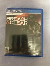 Breach & Clear (Sony PlayStation Vita, 2015) Brand New!