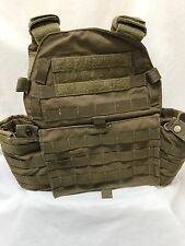 London Bridge Trading LBT6094A Old Gen Plate Carrier Navy SEALs DEVGRU Coyote