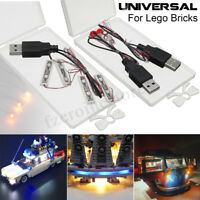 Universal LED Light Lighting Kit For Lego Toy Bricks Bar-type Lamp/Round Lamp !