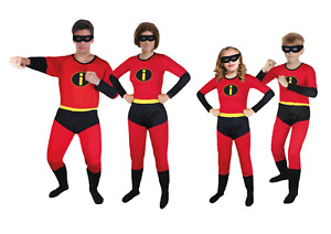 The Incredibles Costume Elastigirl Violet Dash Party Super Power Book week