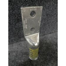 "Burndy Ya44-2Nfxb 2-Hole Terminal Lug, 777.7 kcmil, 5/8"" Lug, Copper No Box"