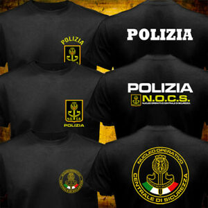 New NOCS Italy Police Tactical Unit SWAT Counter Terrorist Special Force T-shirt