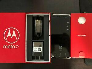 NEW Motorola Moto Z4 - 128GB - Flash Gray (Unlocked)