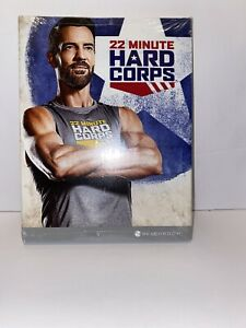 BEACHBODY 22 MINUTE HARD CORPS DVD COMPLETE SET & NUTRITION BOOK