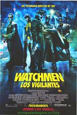 WATCHMEN MOVIE POSTER Original DS 27x40 Spanish International MUCH NICER ART !!
