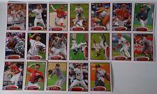2012 Topps Series 1 & 2 Nationals Team Set of 19 Baseball Cards (No Harper)