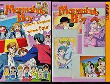 Marmalade Boy: Ultimate Scrapbook Vol. 4 - Brand New 3 Disc Anime Box Set