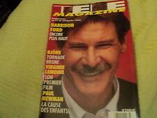"""TELE MAGAZINE N°2102 - 1996"" Harrison FORD Jeanne MAS Marie MYRIAM Chuck NORRIS"