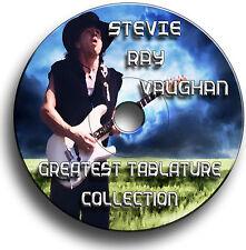 STEVIE RAY VAUGHAN SRV GUITARE ROCK TABLATURE TABLATURE LIVRE MUSICAL