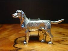 Silver Pewter Hunting Hound ~ Pointer DOG Napkin Ring ~ Buy One or Many