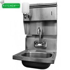 Hand Sink  with Towel & Soap Dispenser *NO LEAD*