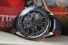 CITIZEN ECO-DRIVE AT8060-09E RED ARROWS RADIO CONTROLLED  SAPPHIRE!  (4)