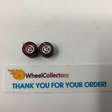 Silver Rims w/ Real Riders * One Set 1/64 * Hot Wheels Matchbox * F563