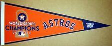 2017 Houston Astros World Series Champions MLB Baseball Pennant