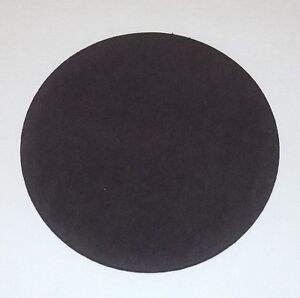 """4"""" TO 10"""" ROUND BROWN FELT PADS ADHESIVE BACK FOR LAMP BASES"""