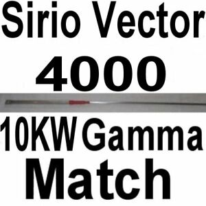 10 KW GAMMA MATCH - SIRIO VECTOR 4000
