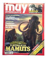 REVISTA MUY INTERESANTE. NÚM. 148 (1993). MAMUTS, VOLCANES, SER FELIZ