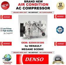 DENSO NEUF CLIMATISATION ca COMPRESSEUR OEM: 8200939386 pour Renault Megane