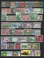 Fiji.  Collection of  85 stamps, 1891 to 1987, Mint & Used.