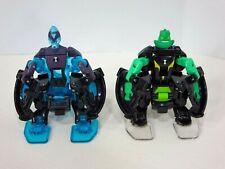Ben 10 Omni-Launch Battle Figures Omni-Enhanced Diamondhead & Heatwave