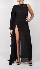 LA PERLA ETHNO SOUTACHE Black Resort Dress Kaftan size 6 $995