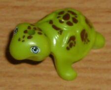 Lego City 1 Kleine Schildkröte mit Aufdruck